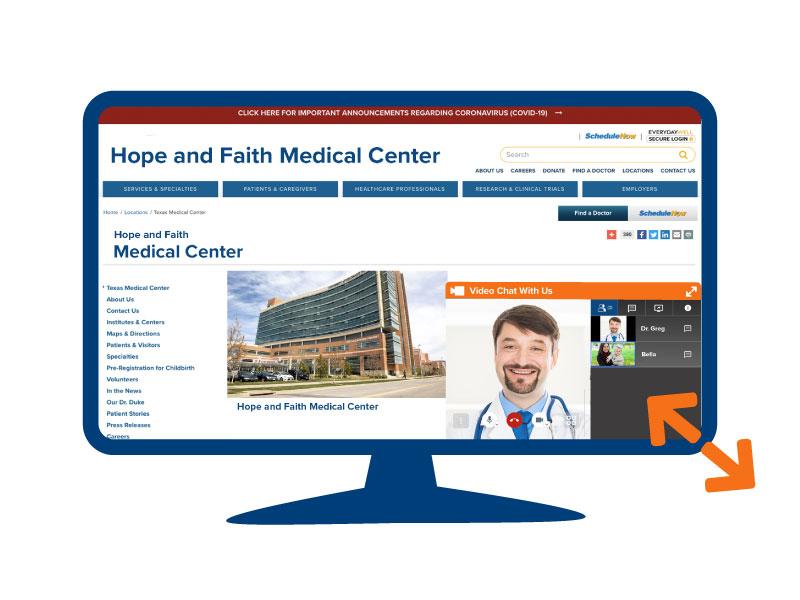 Telehealth Technology Patient Lobby