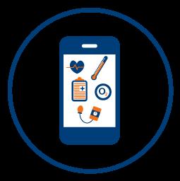 Remote Patient Monitoring Icon